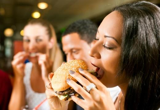 Fast foody a astma