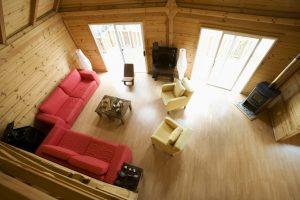 pokoj w drewnie