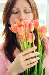 Kwiaty cięte - czyli co kupić na imieniny alergika