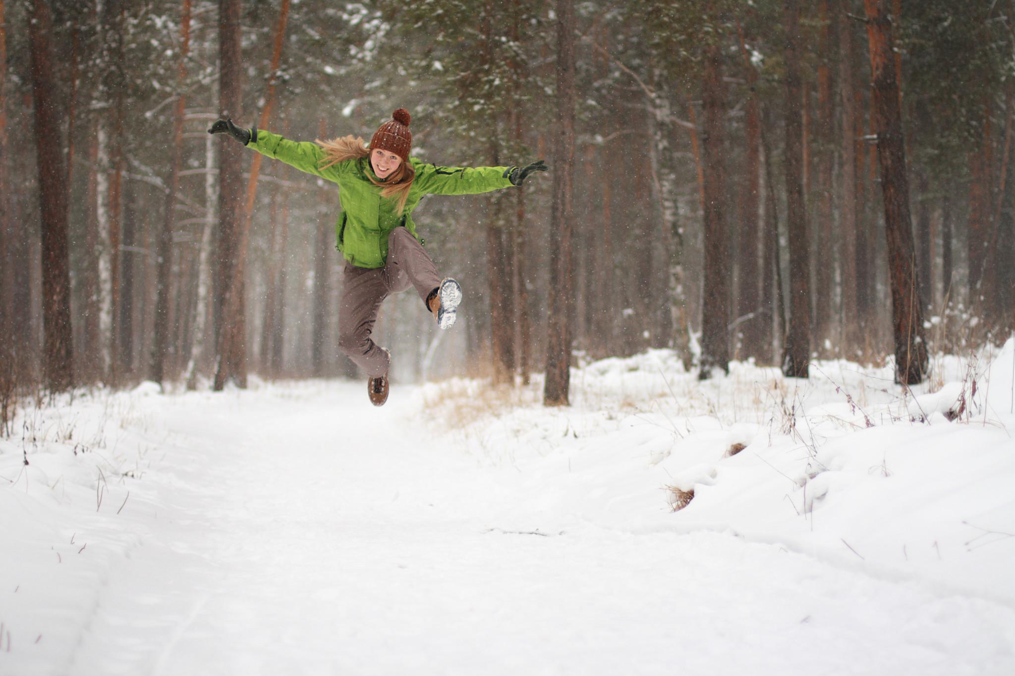 Spacer w lesie podnosi odporność