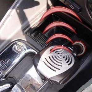 Samochodowe jonizatory powietrza