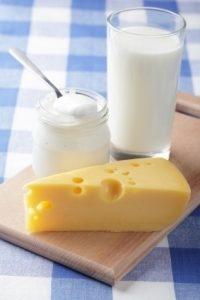 Produkty mleczne w diecie antyhistaminowej
