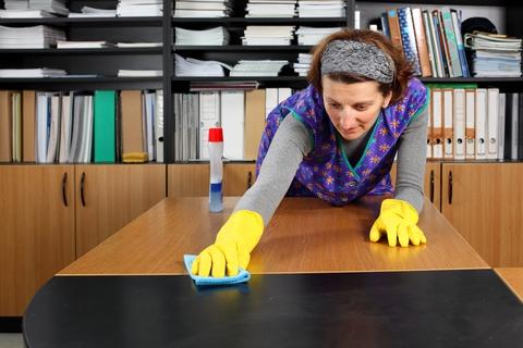 Nie sprzątasz w pracy - możesz mieć alergię