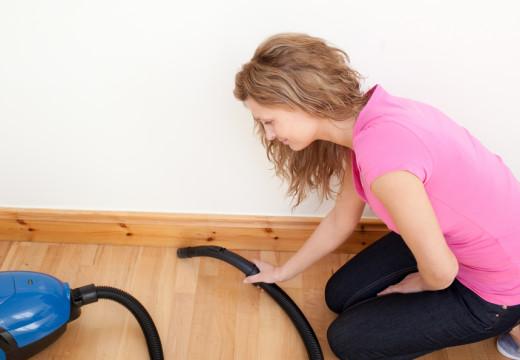 By podłoga w domu nie szkodziła