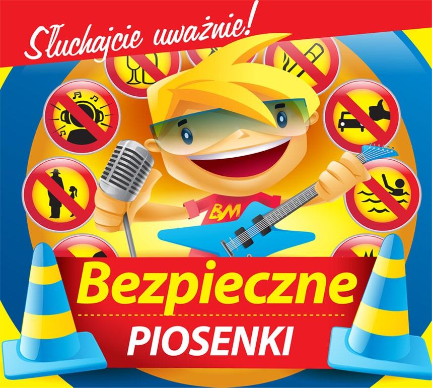 """Płyta """"Bezpieczne piosenki"""" dla dzieci"""