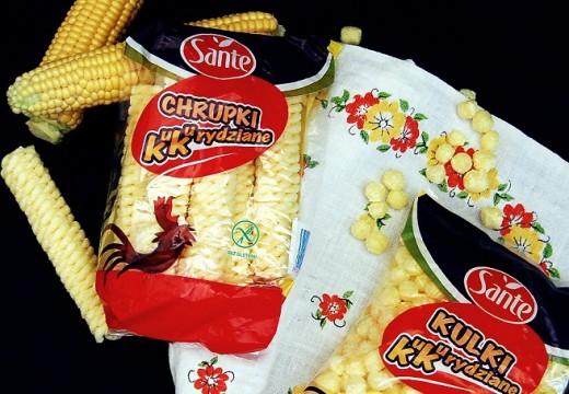 Chrupki kukurydziane SANTE – produkt bezglutenowy