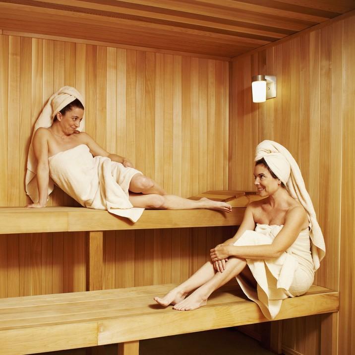 sauna leczenie azs