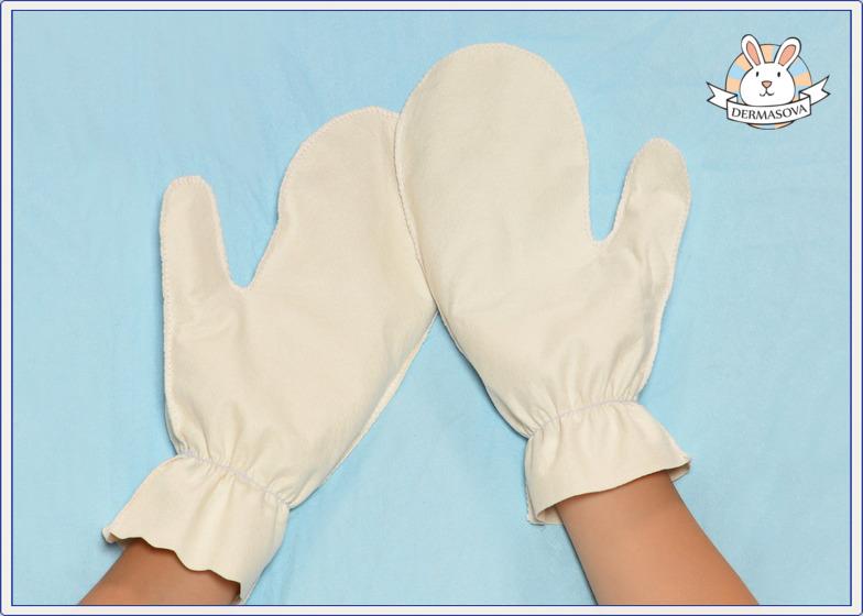 DERMASOVA rękawiczki antyalergiczne