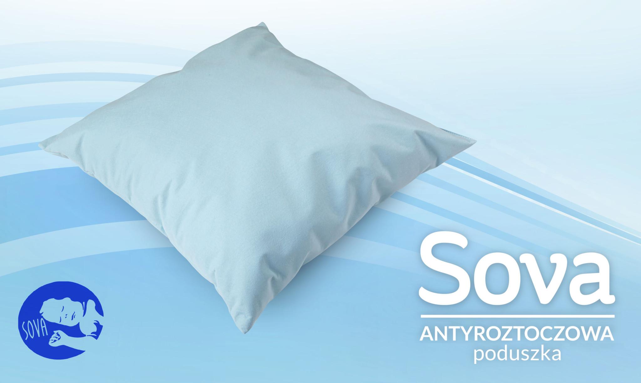 sova poduszka antyroztoczowa