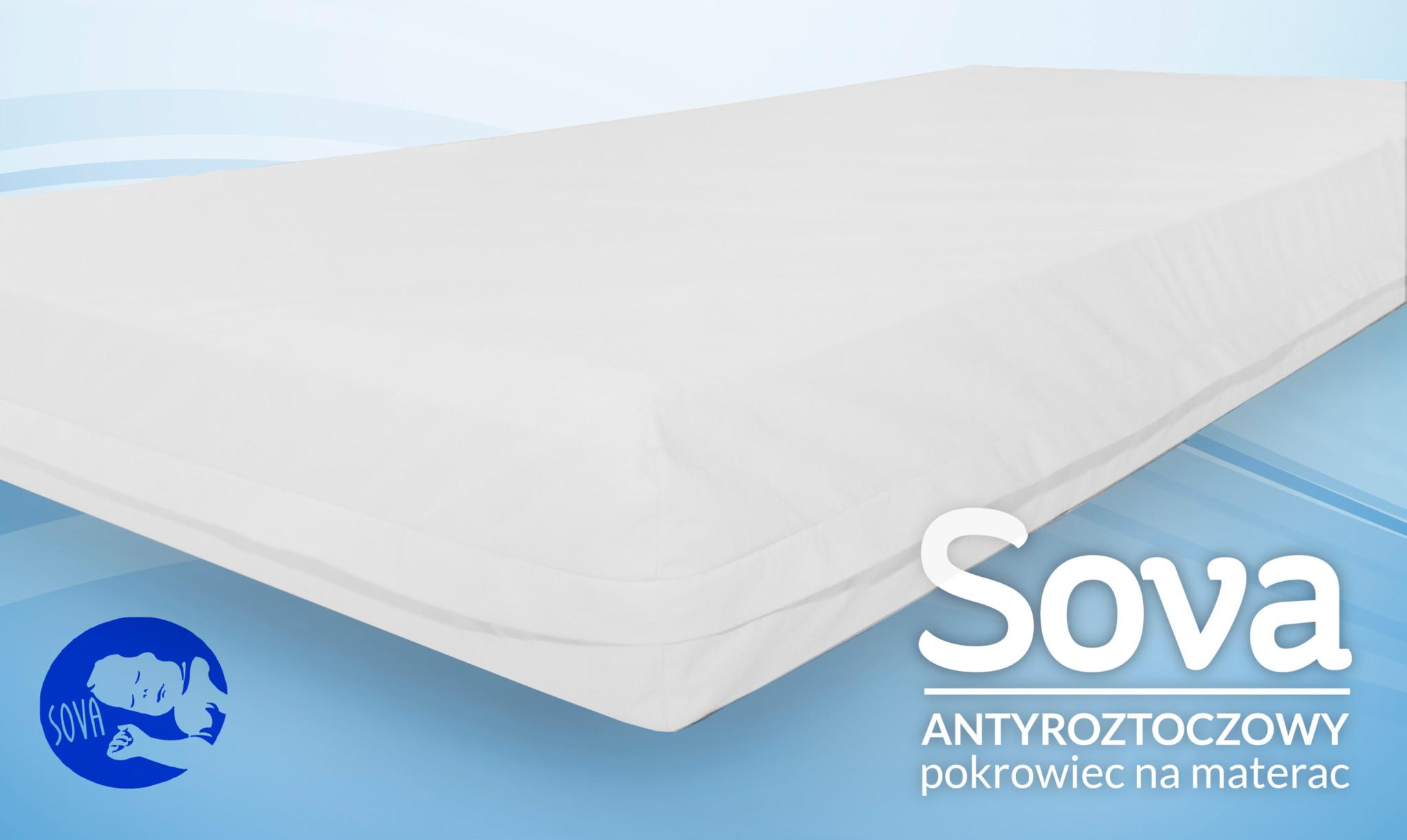 SOVA Antyalergiczny pokrowiec na materac