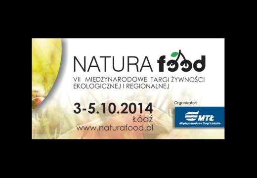VII Międzynarodowe Targi Żywności Ekologicznej i Tradycyjnej NATURA FOOD