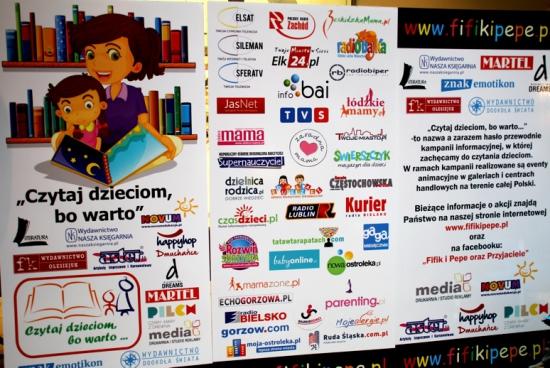 """Akcja """"Czytaj dzieciom, bo warto"""" po raz pierwszy w Bielsku-Białej"""