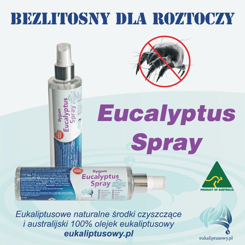 Eucalyptus Spray kontra roztocza