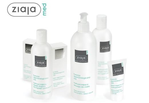 Wygraj zestaw kosmetyków Ziaja Med kuracja dermatologiczna AZS!