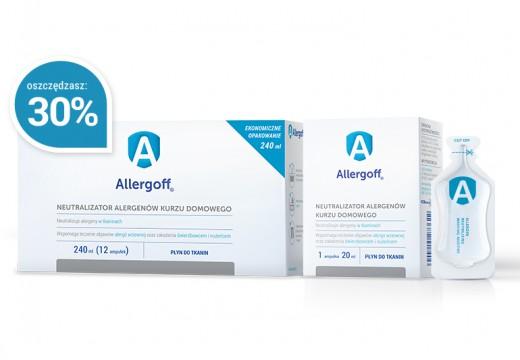 ALLERGOFF® Neutralizator alergenów – Płyn do tkanin