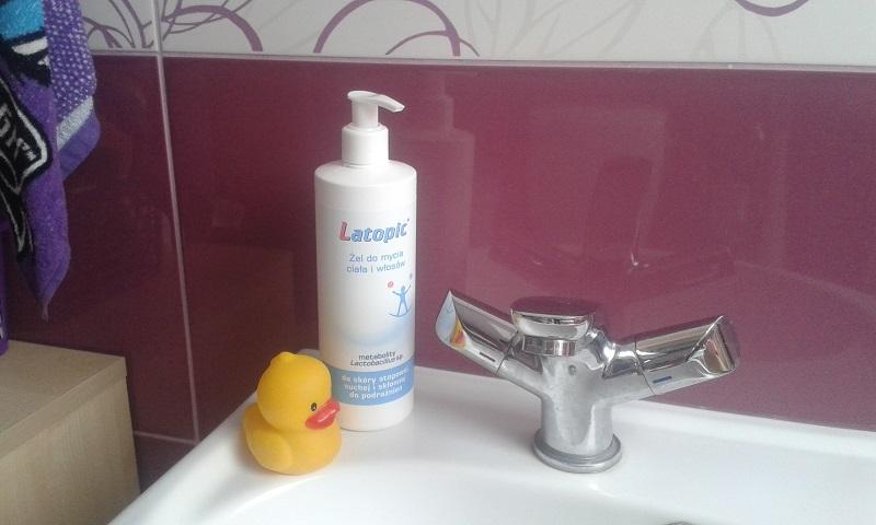 żel do mycia ciała i włosów Latopic