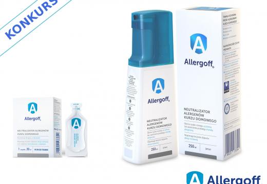 Nagroda: zestaw preparatów Allergoff®. Kto pozbędzie się alergenów ze swojego mieszkania?
