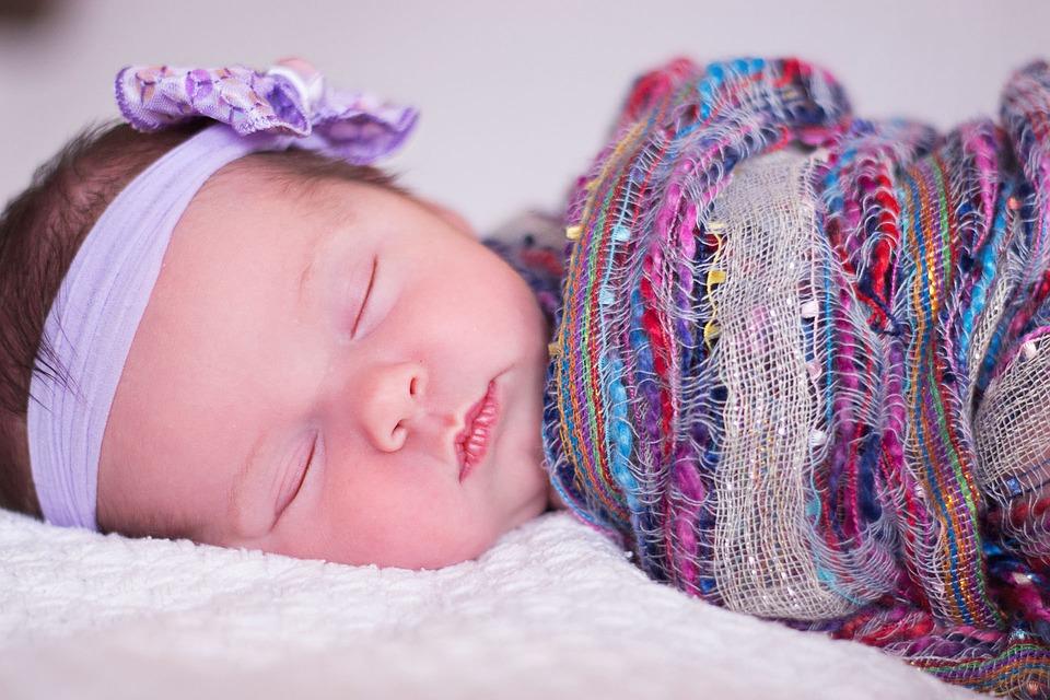 jak szybko uśpić niemowlę