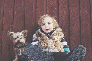 pies a dziecko