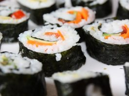 alergia na sushi