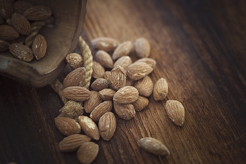 alergia na migdały