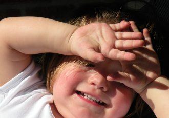 udar u dziecka