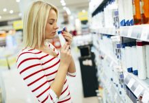 nadwrażliwość na kosmetyki
