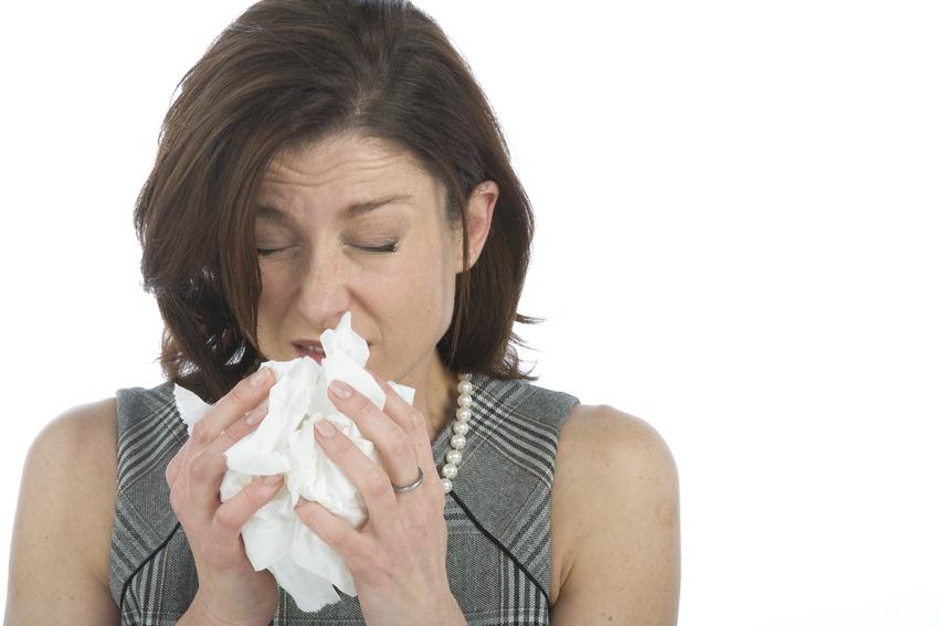 Płukanie nosa przy katarze alergicznym