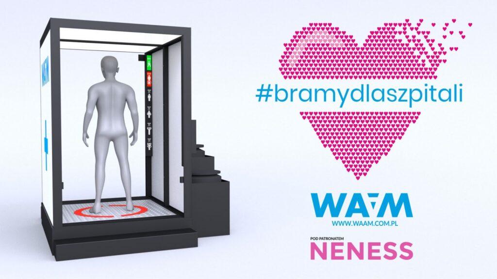 Neness wspiera budowę bram odkażających dla polskich szpitali