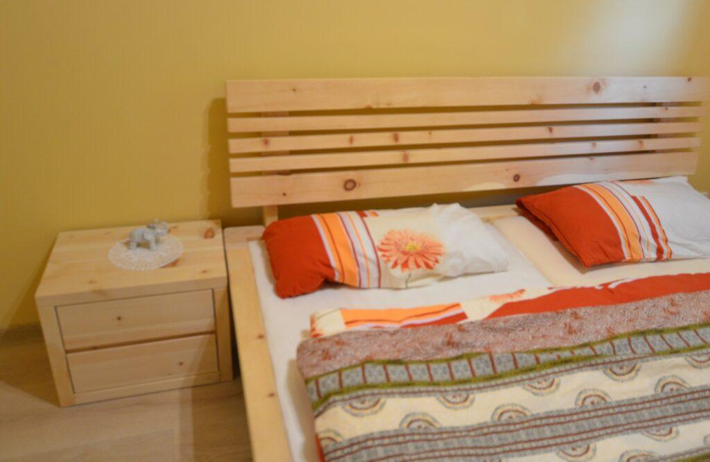 łóżko z alpejskiej limby
