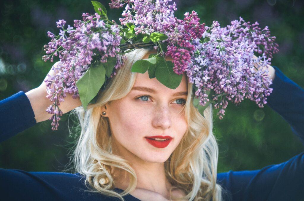 Z czym łączyć kolor liliowy