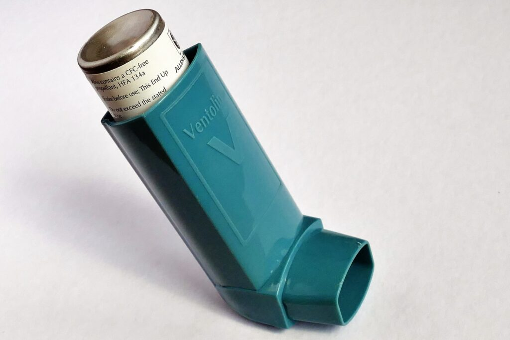 Czym objawia się astma alergiczna