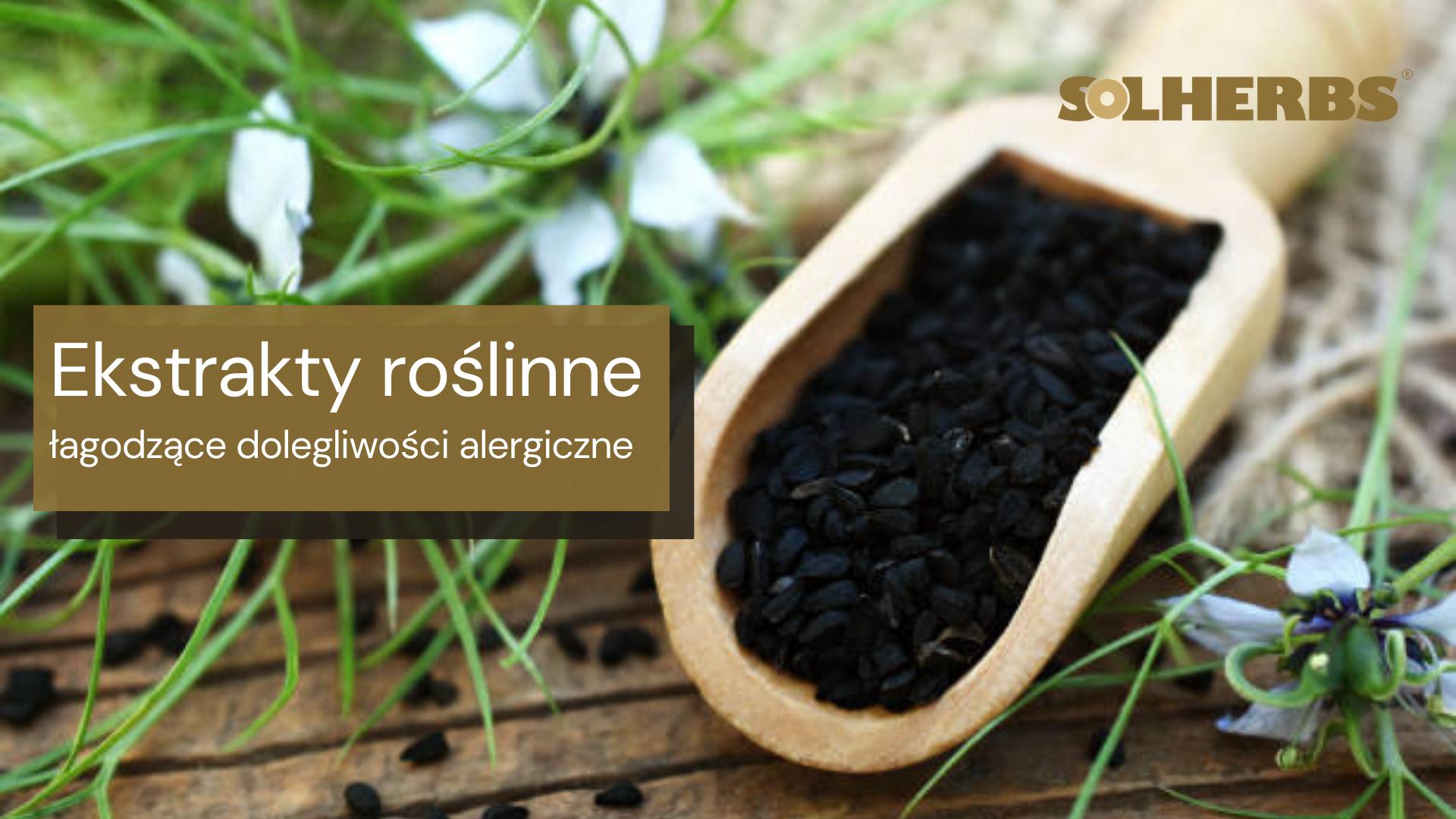 Czarnuszka i pachnotka dla złagodzenia dolegliwości alergicznych