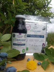 Proszek z ekologicznej jagody kamczackiej